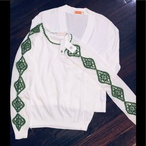 Tory Burch Women's Timeless 2 Sweater Bundle L&XL
